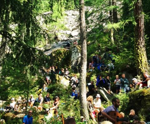 Un concert d'oud dans les bois